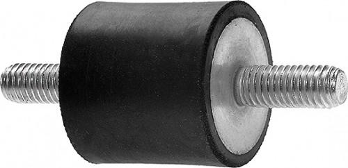 Gummi-Metall-Puffer zylindrisch